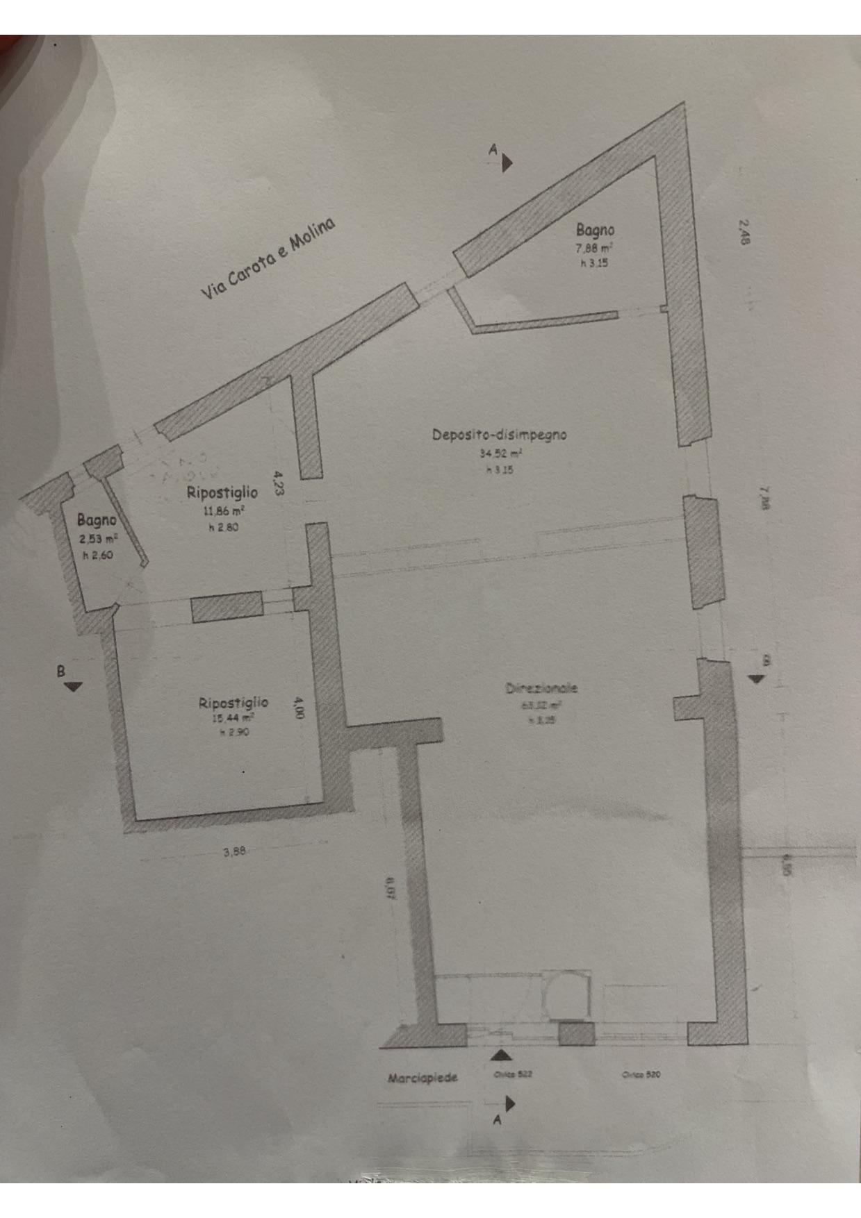 Planimetria 1/1 per rif. 2pt/399
