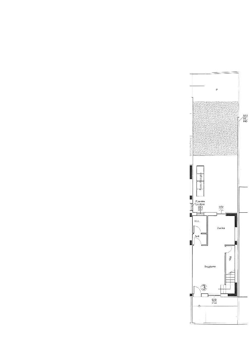 Planimetria 1/2 per rif. 2pt/398