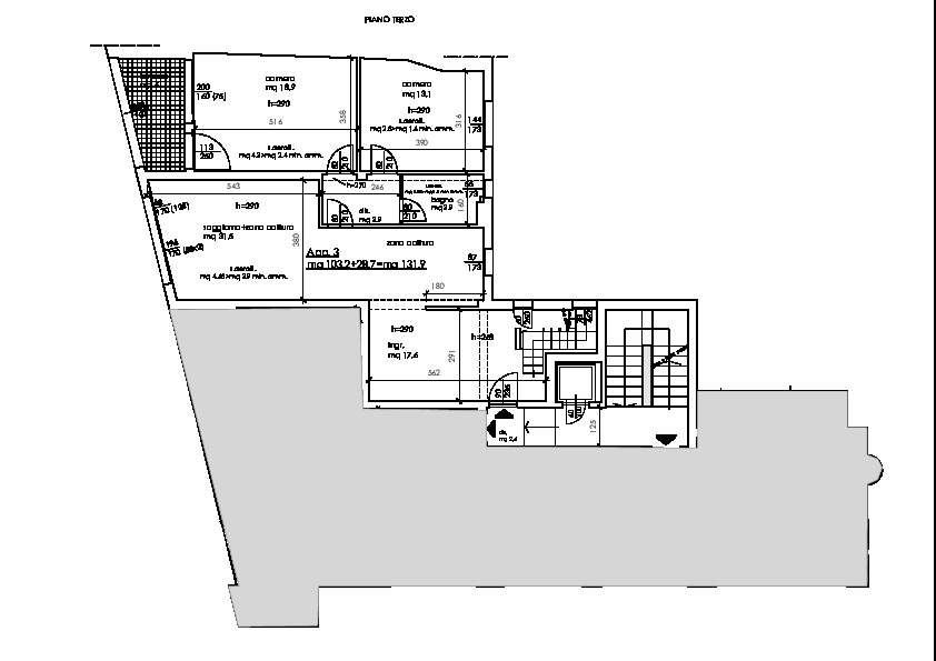 Planimetria 1/2 per rif. 2pt/149
