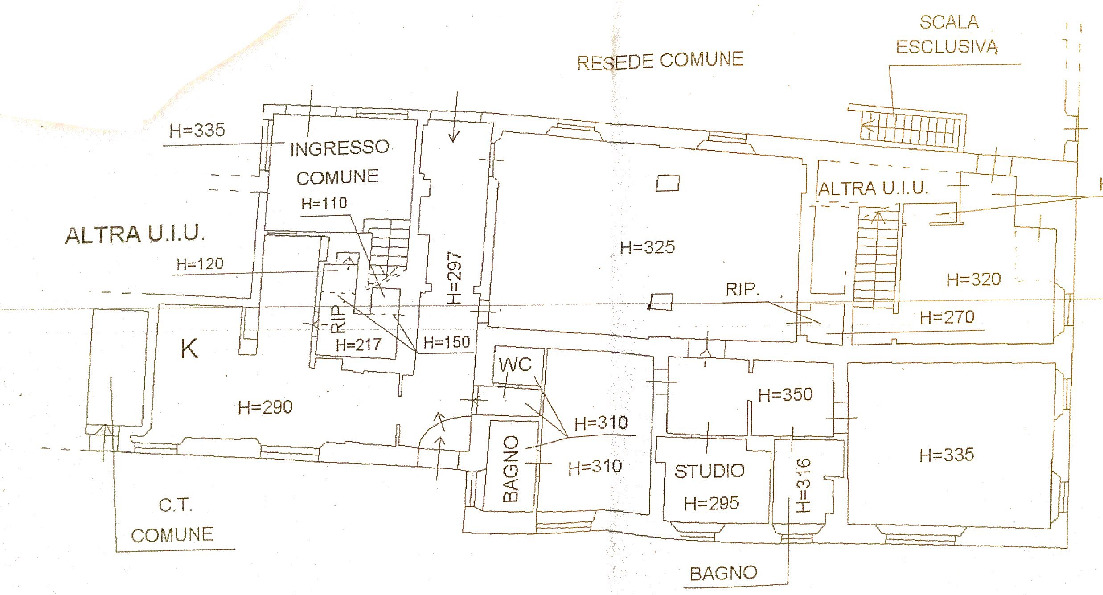 Planimetria 1/1 per rif. 3po-072