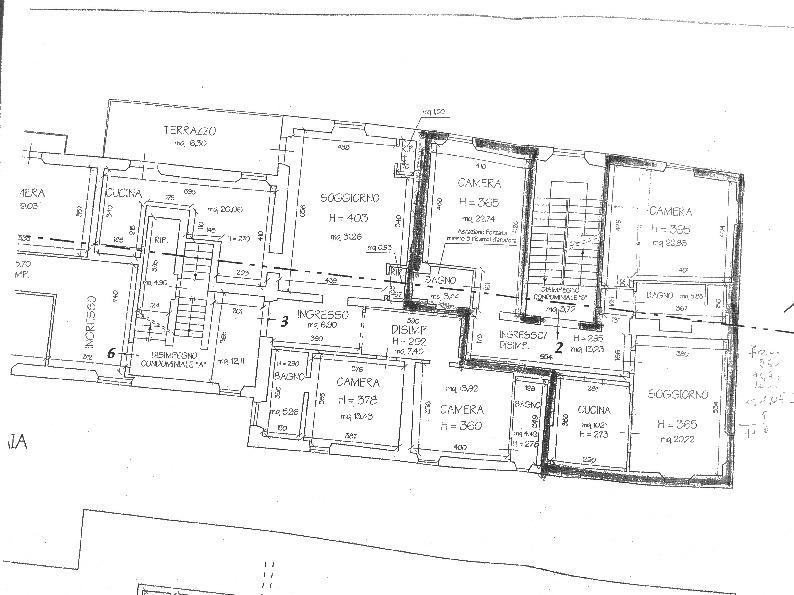 Planimetria 1/1 per rif. 3po-073