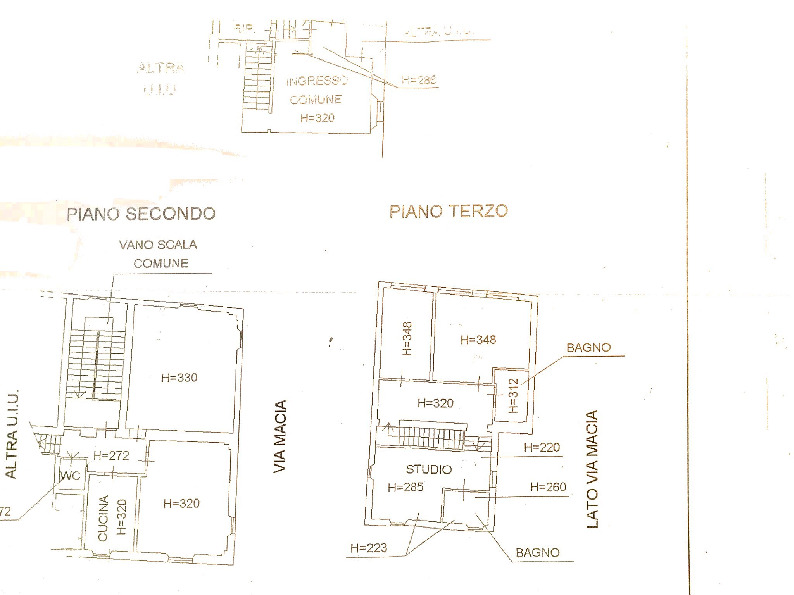 Planimetria 1/1 per rif. 3po-074