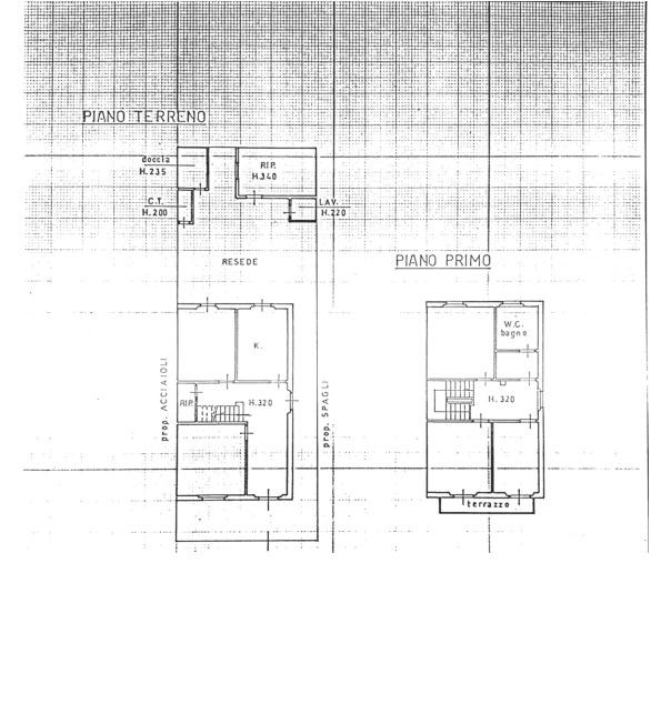 Planimetria 1/1 per rif. 3po/077