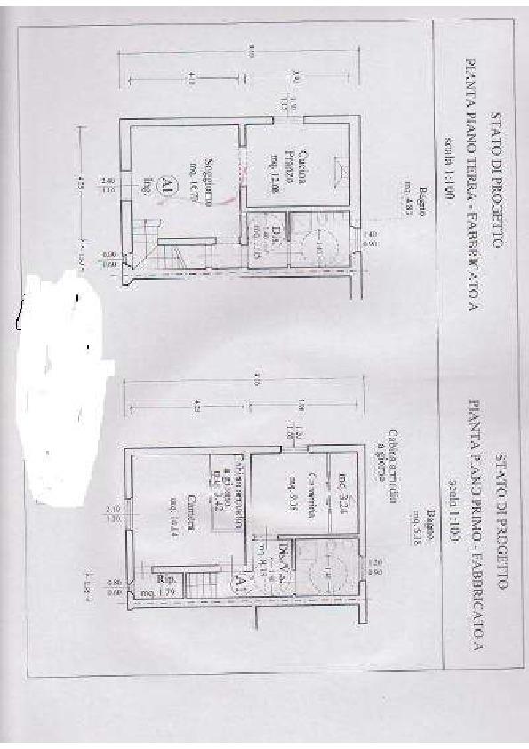 Planimetria 1/2 per rif. 2pt/170