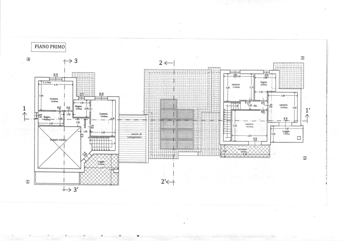 Planimetria 2/3 per rif. 2pt/174