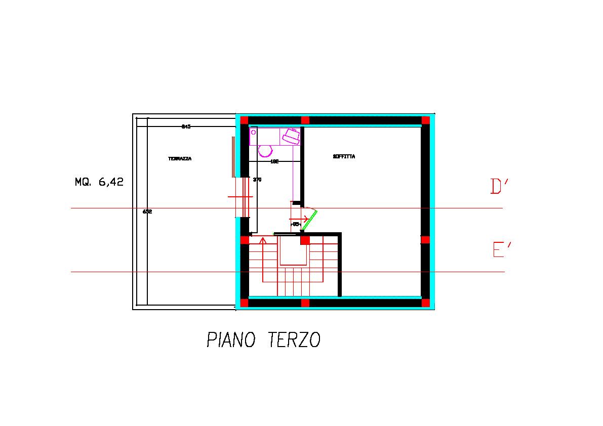 Planimetria 4/4 per rif. 2pt/178