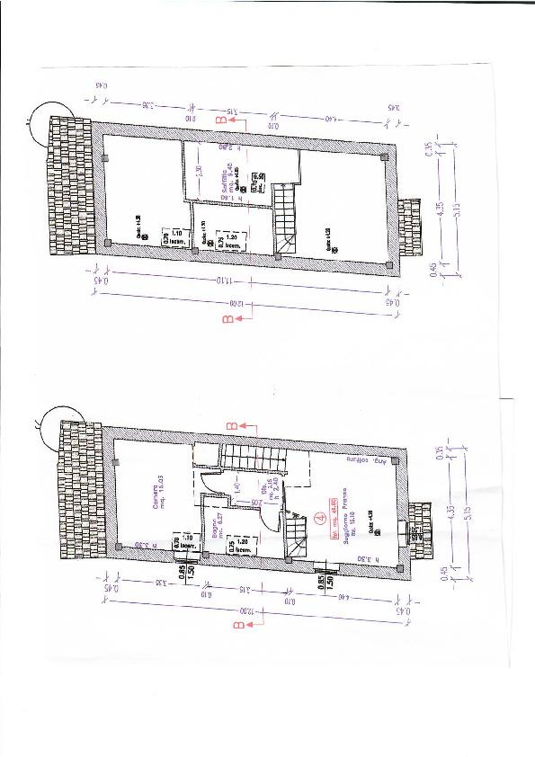 Planimetria 1/1 per rif. 2pt/197
