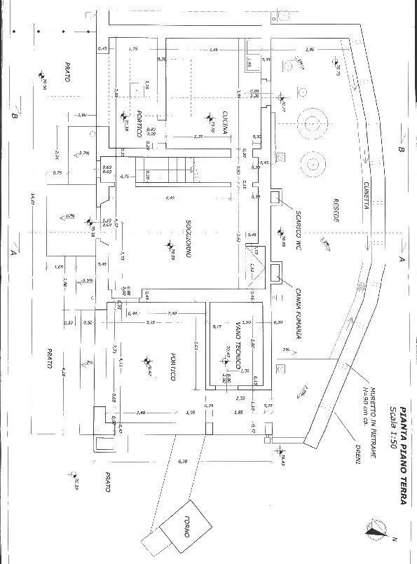 Planimetria 1/2 per rif. 2pt/203