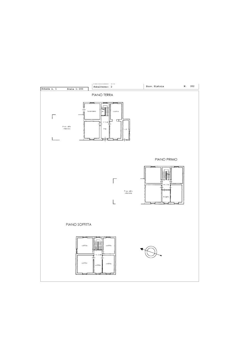 Planimetria 1/1 per rif. 2pt/211