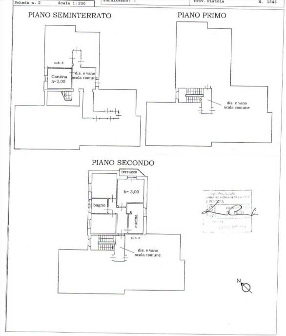 Planimetria 1/1 per rif. 2pt/219