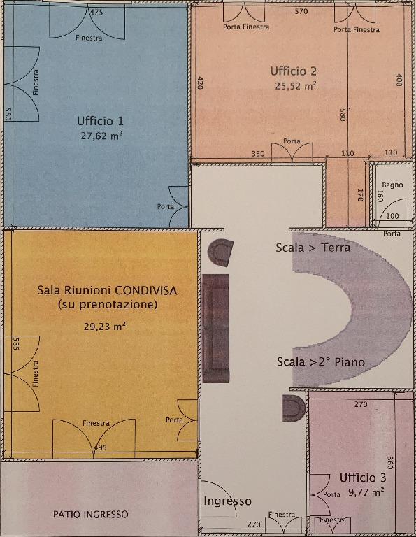 Planimetria 1/1 per rif. 3po/affitto2