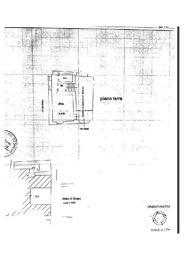 Planimetria 1/1 per rif. 2pt/affitto1