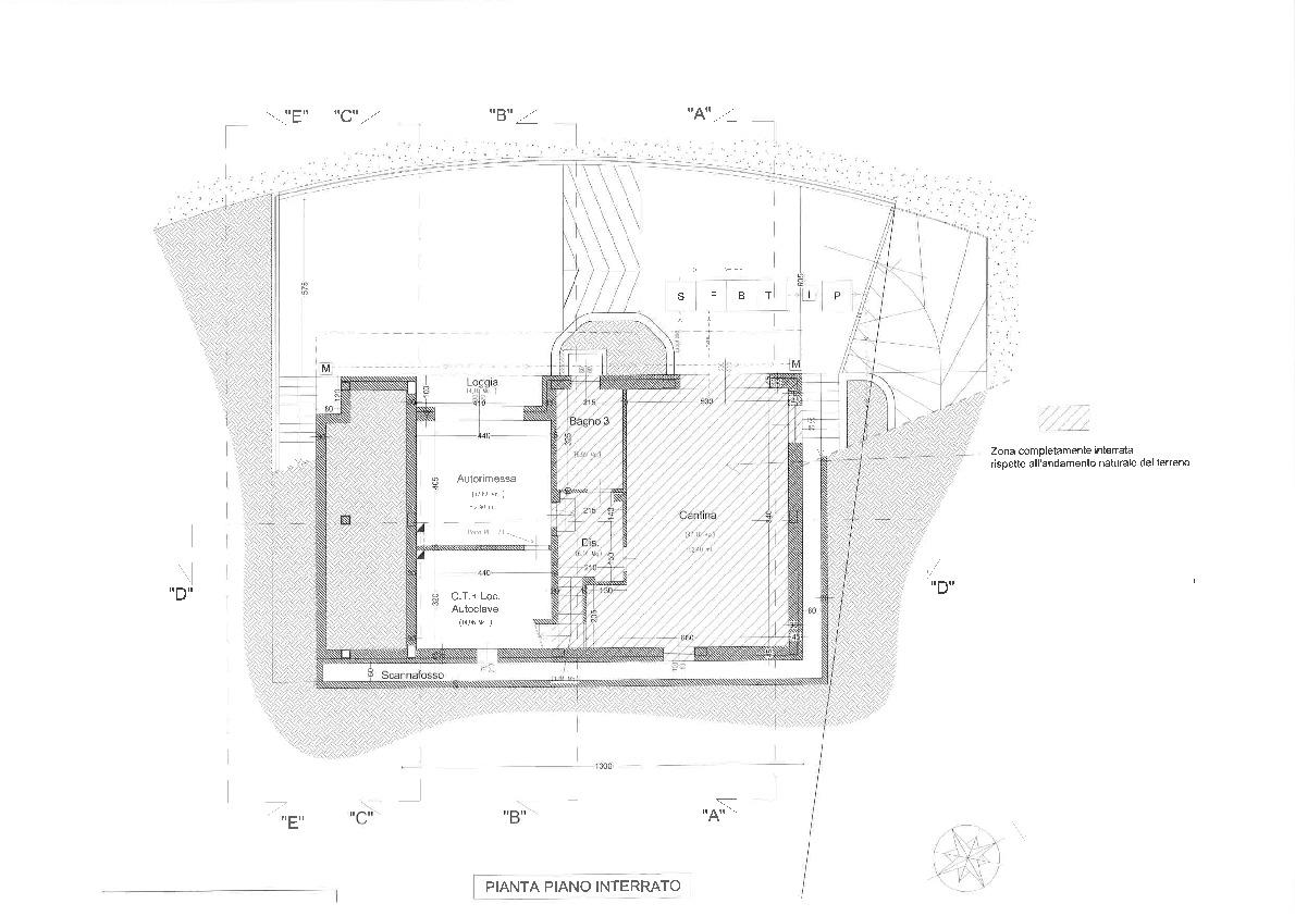Planimetria 1/2 per rif. 2pt/241