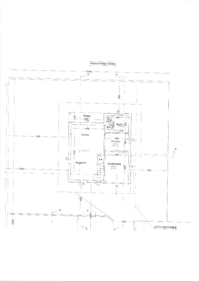 Planimetria 2/2 per rif. 2pt/242