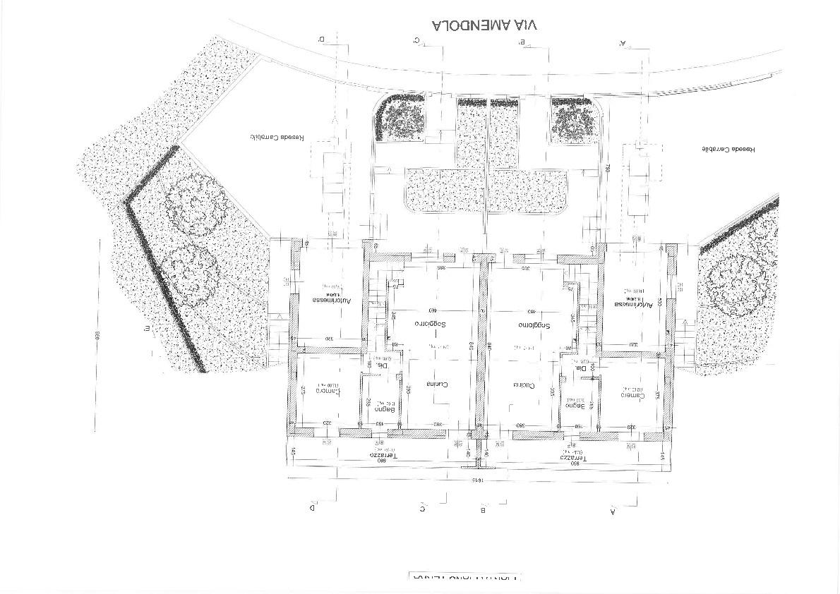 Planimetria 2/3 per rif. 2pt/243