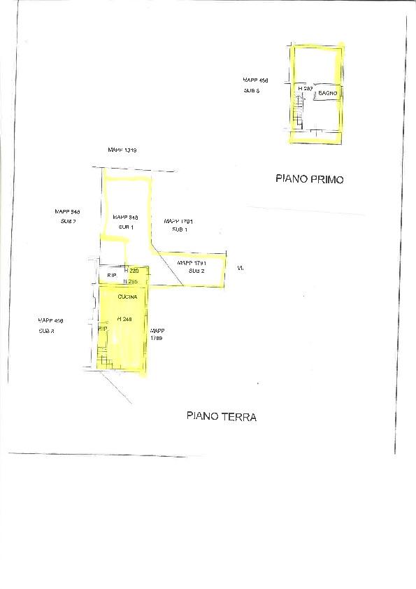 Planimetria 1/2 per rif. 2pt/affitto7