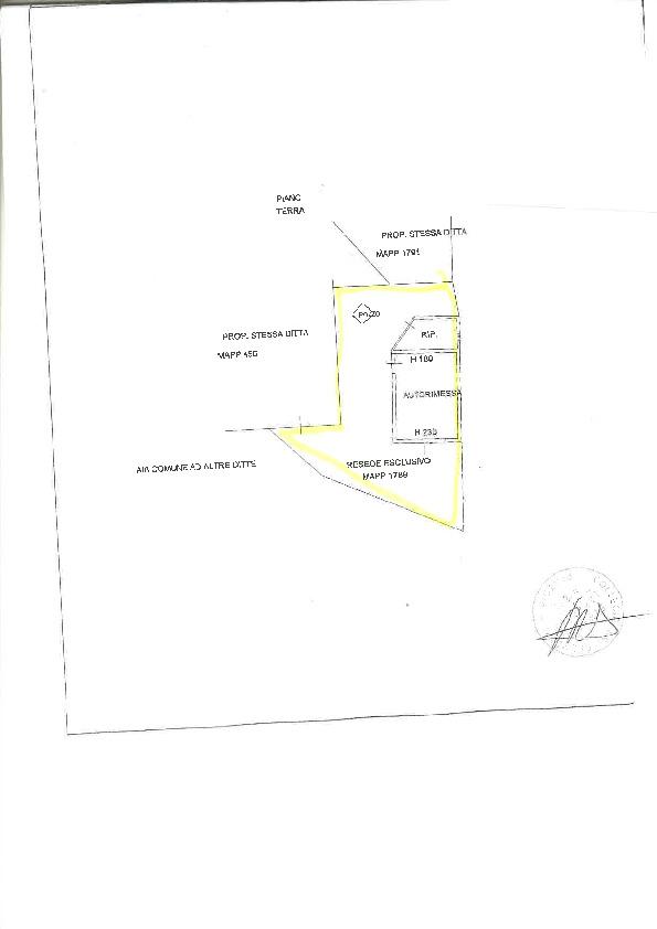 Planimetria 2/2 per rif. 2pt/affitto7