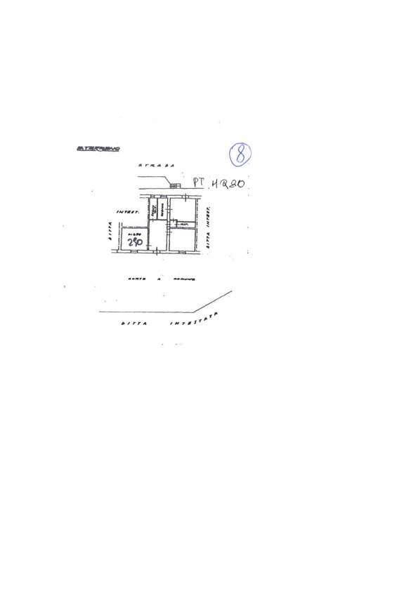 Planimetria 1/1 per rif. 2pt/249