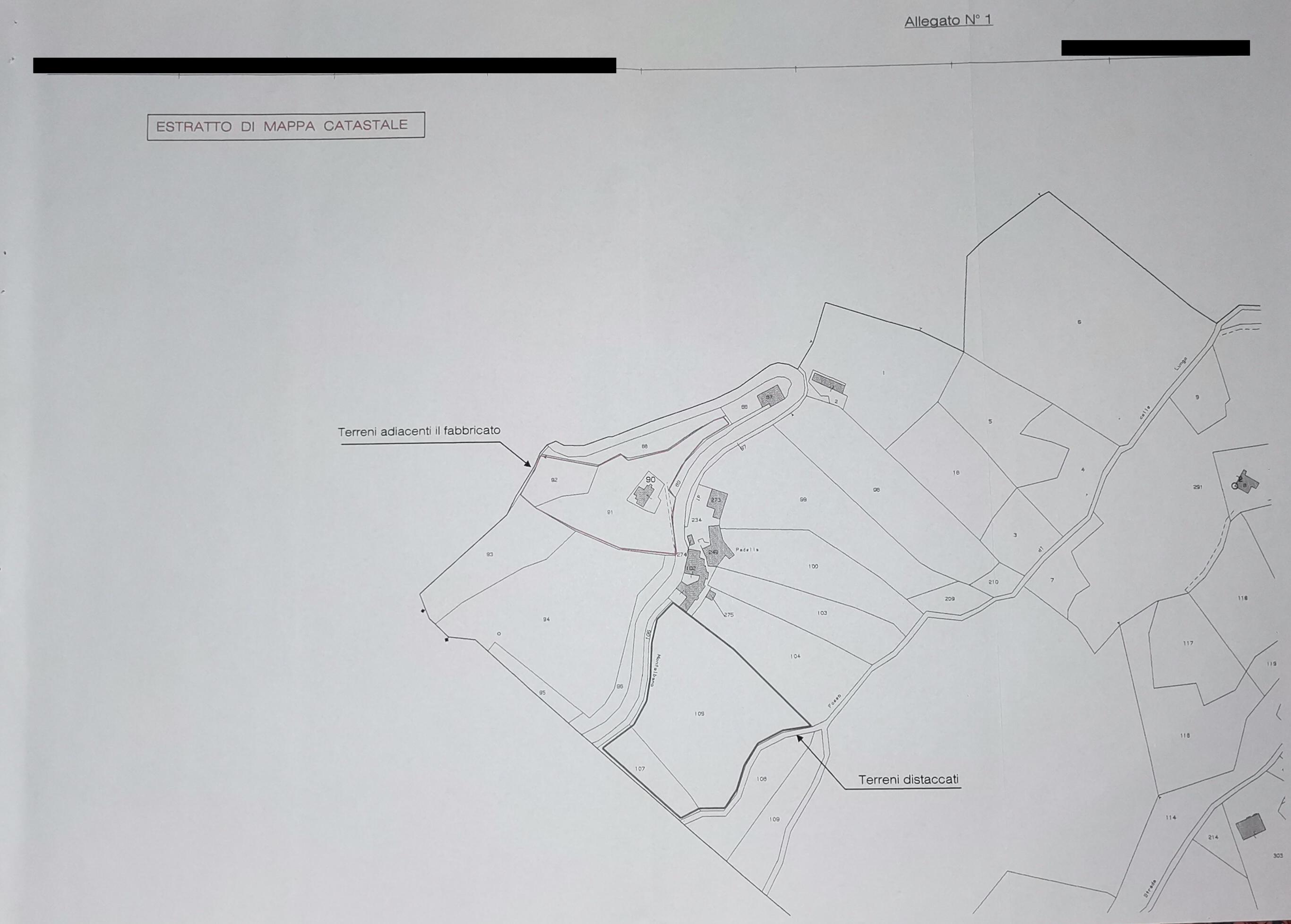 Planimetria 1/2 per rif. 2pt/259