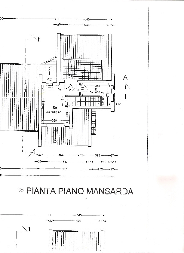 Planimetria 1/1 per rif. 2pt/260