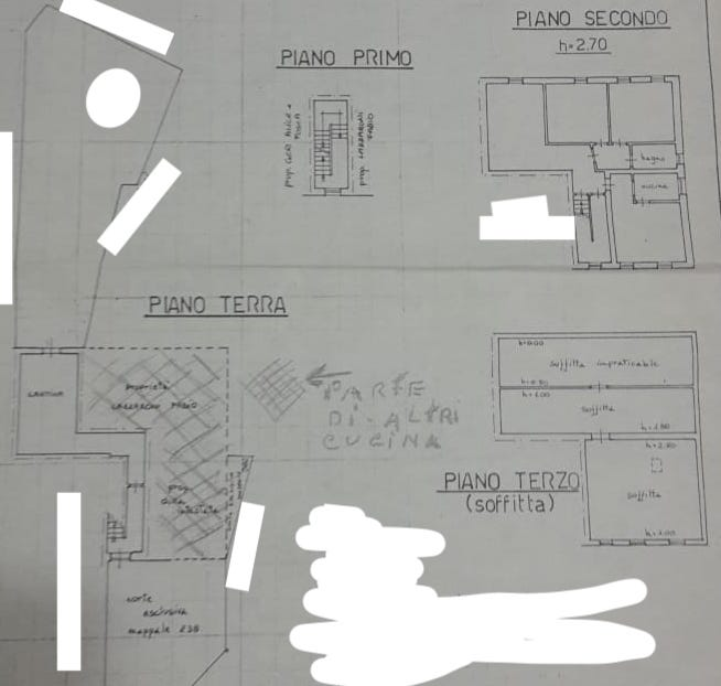 Planimetria 1/1 per rif. 2pt/263