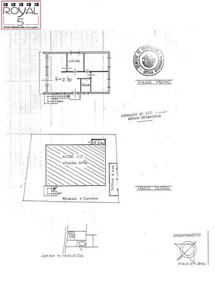 Planimetria 2/4 per rif. 2pt/266