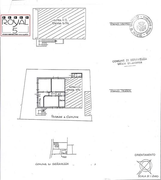 Planimetria 3/4 per rif. 2pt/266