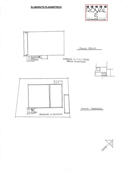 Planimetria 1/4 per rif. 2pt/266