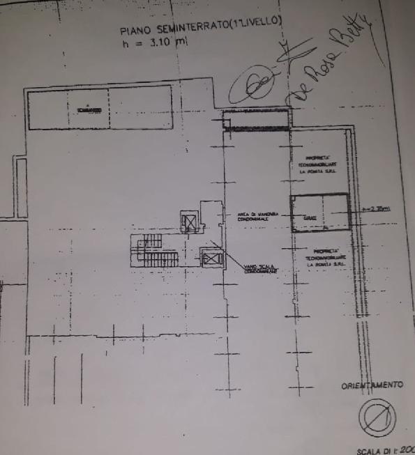 Planimetria 1/2 per rif. 2pt/270