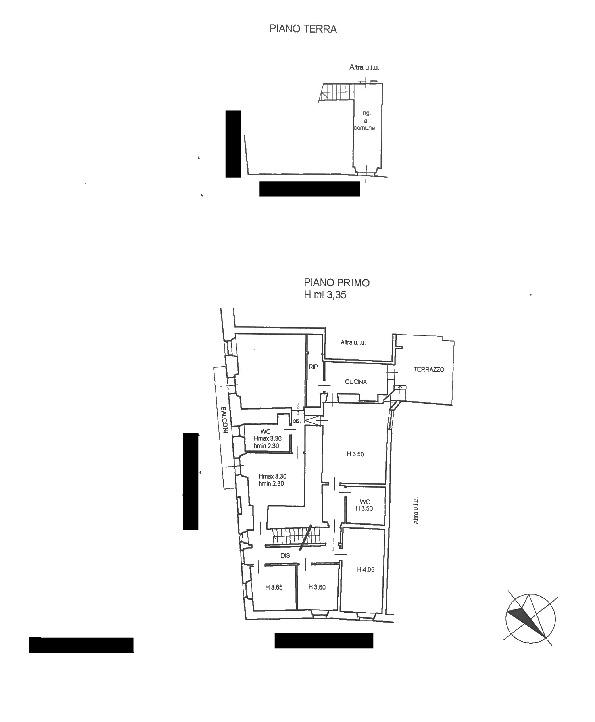 Planimetria 1/1 per rif. 3po/103