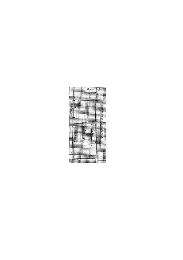 Planimetria 1/3 per rif. 2pt/275
