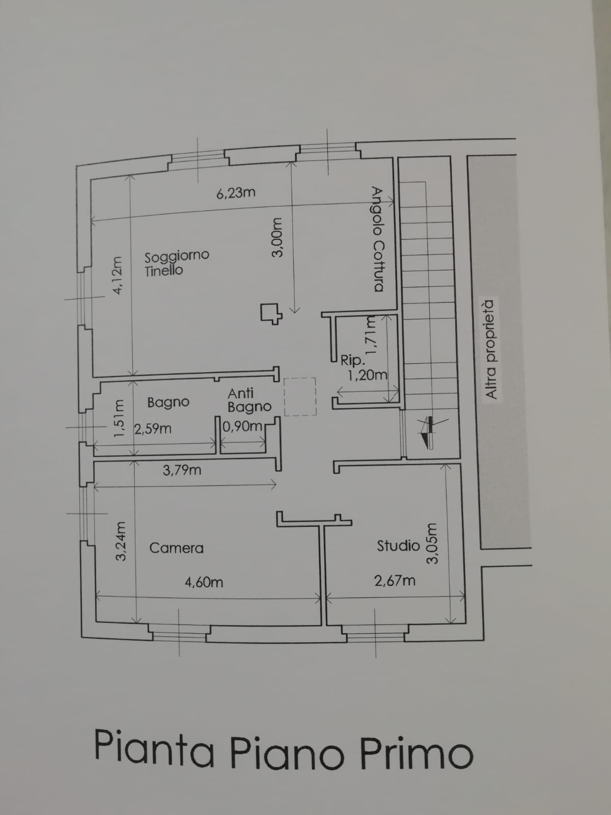 Planimetria 1/2 per rif. 2pt/285