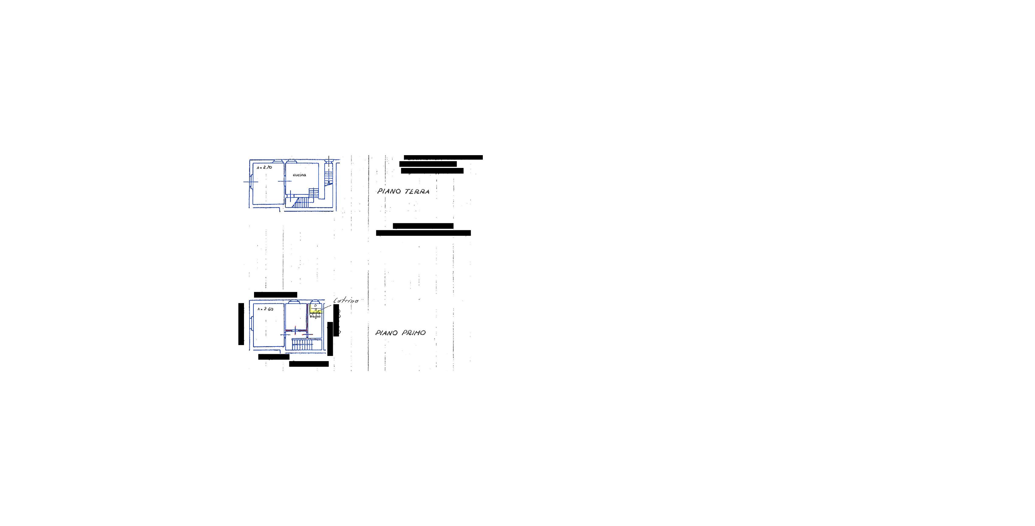 Planimetria 1/1 per rif. 2pt/286