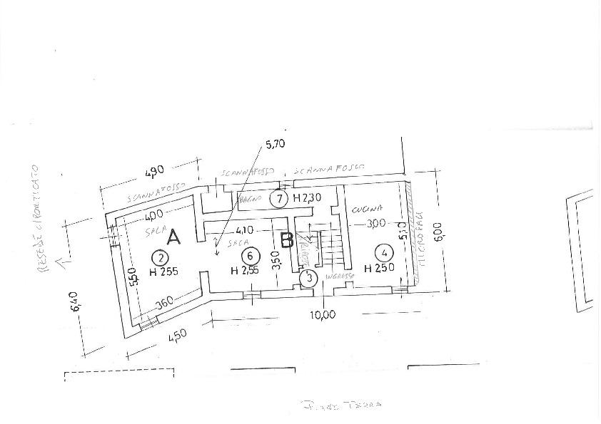 Planimetria 1/1 per rif. 2pt/300