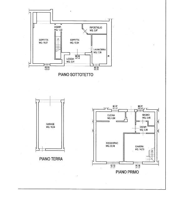 Planimetria 1/1 per rif. 2pt/303