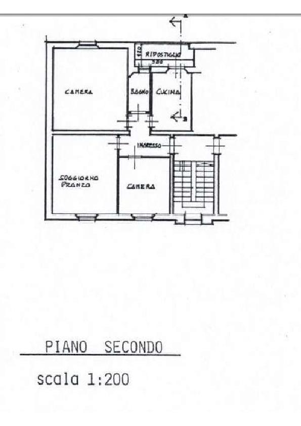 Planimetria 1/1 per rif. 2pt/307
