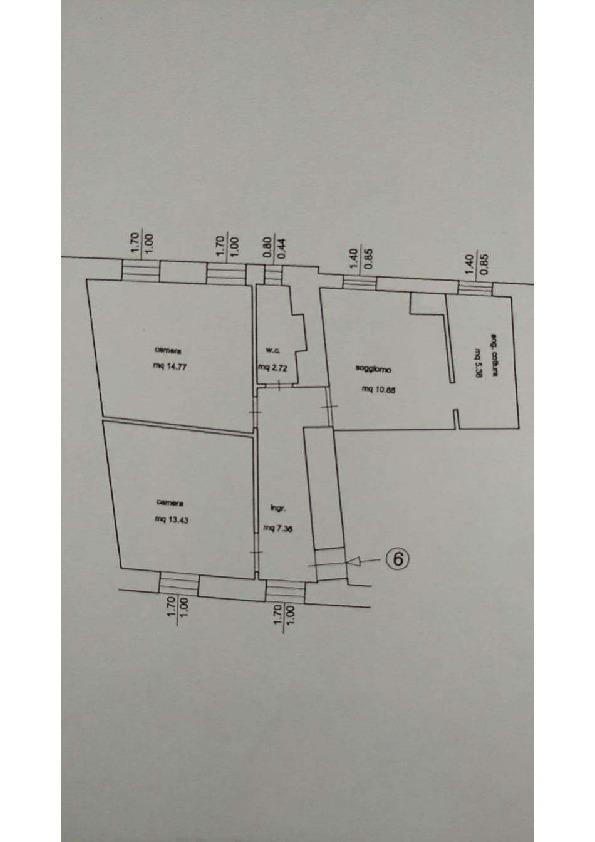 Planimetria 1/1 per rif. 2pt/312