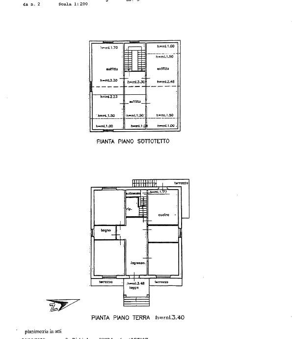 Planimetria 1/1 per rif. 2pt/334