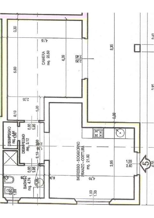 Planimetria 1/1 per rif. 2pt/338