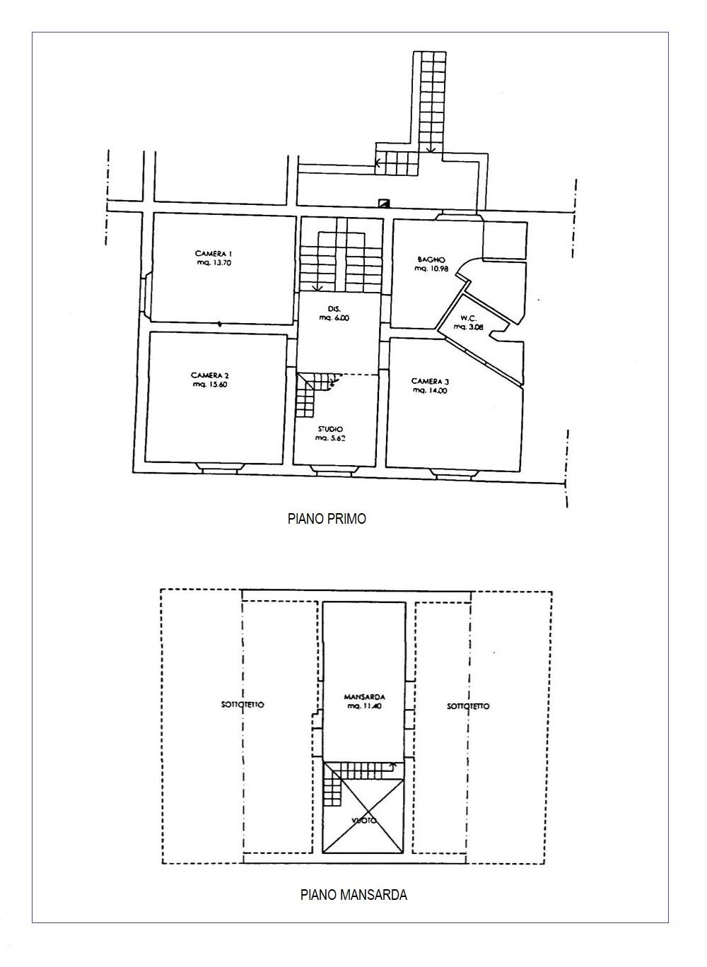 Planimetria 2/2 per rif. 20/983