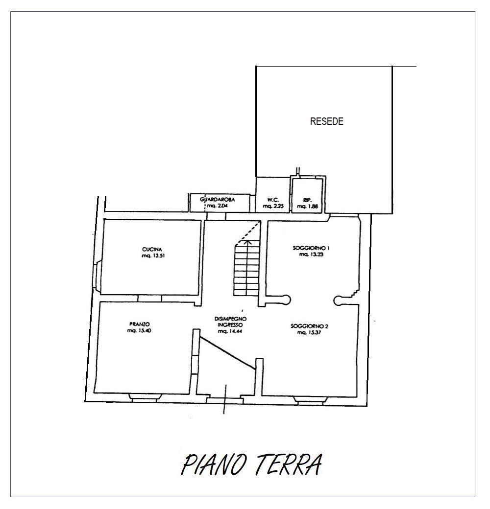 Planimetria 1/2 per rif. 20/983