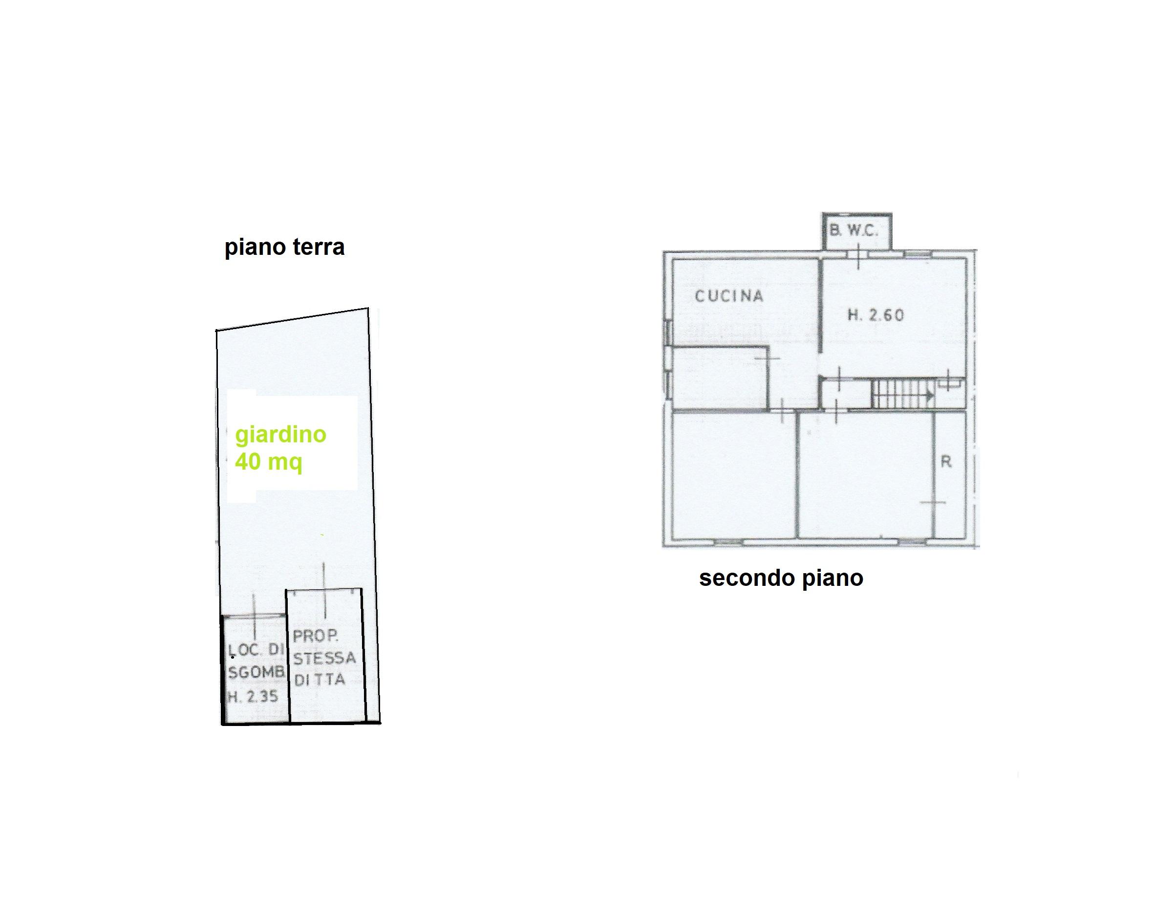 Planimetria /1 per rif. B/898