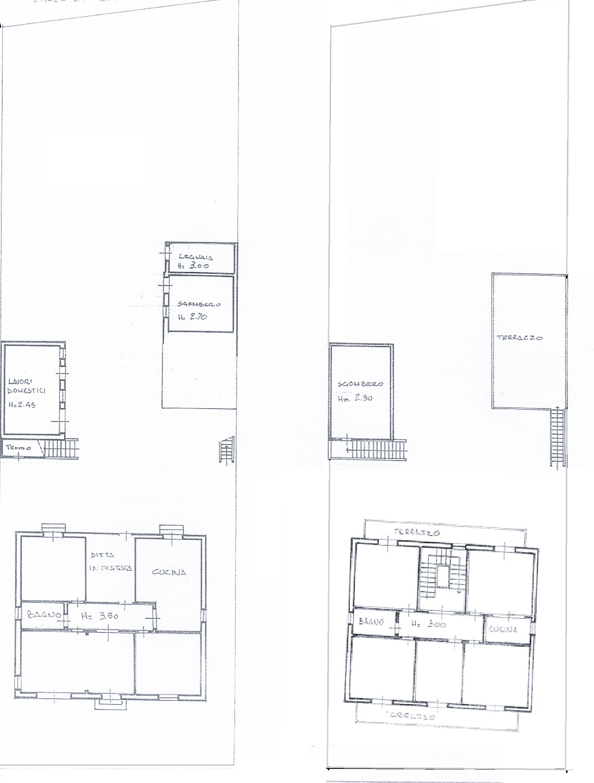 Planimetria /1 per rif. 20/880