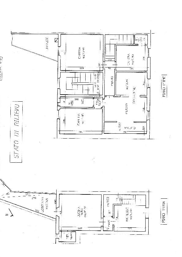 Planimetria /1 per rif. B/144