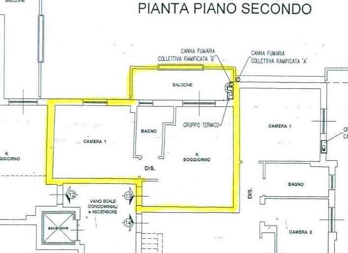 Planimetria /1 per rif. B/146