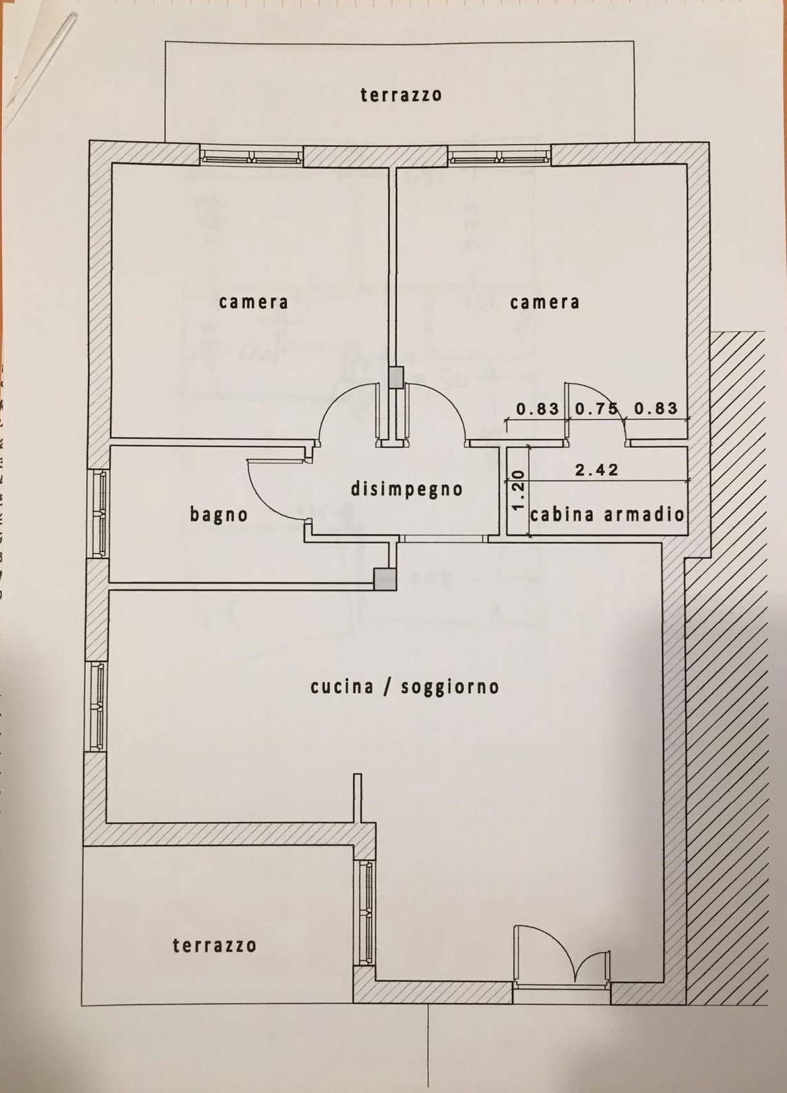 Planimetria /1 per rif. B/230