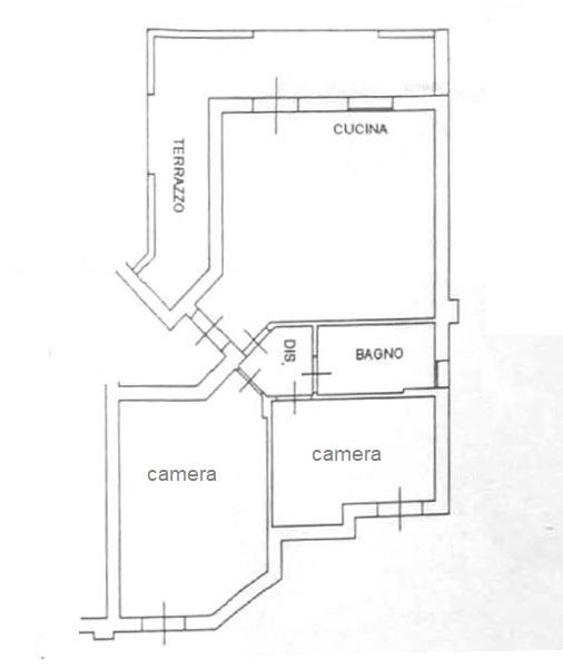 Planimetria /1 per rif. B/234