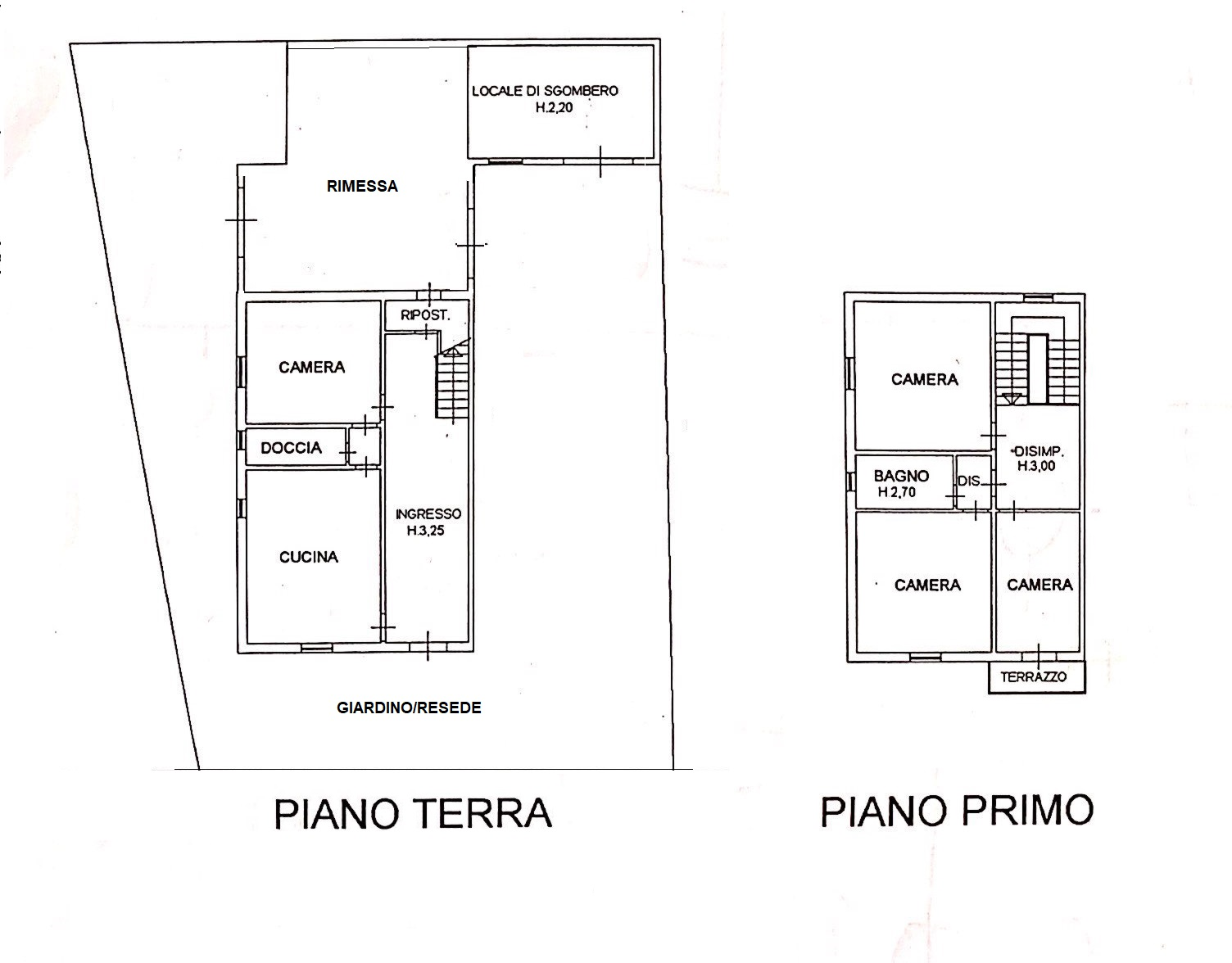 Planimetria 1/1 per rif. 20/807