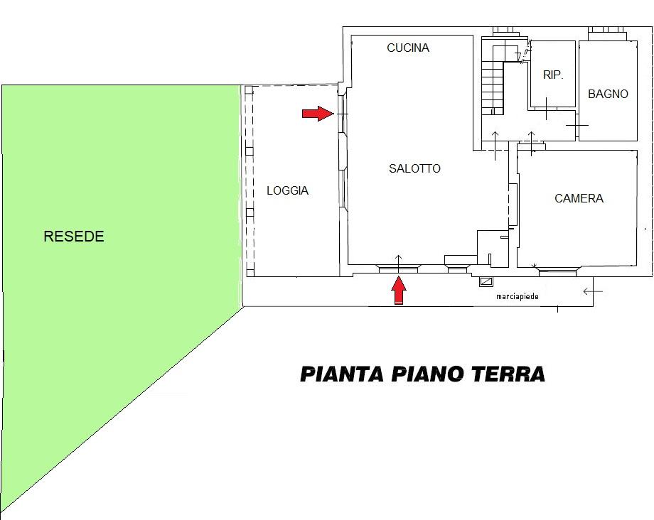 Planimetria 1/2 per rif. 20/976