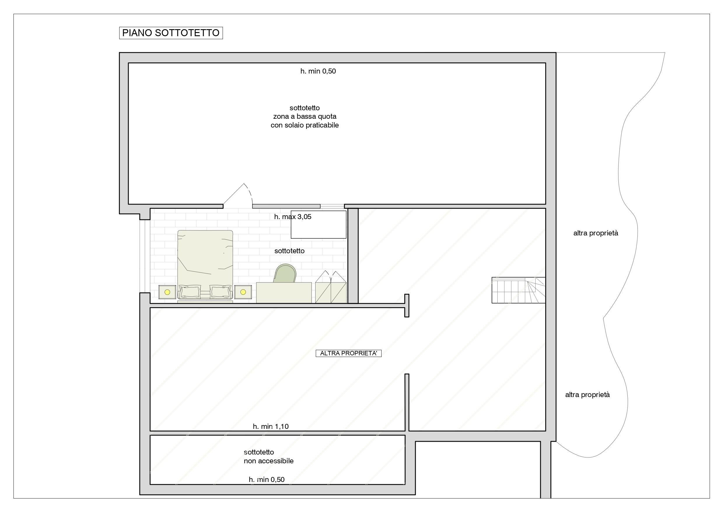 Planimetria 2/2 per rif. B/313